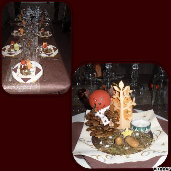 Mes tables de noel et nouvel an for Deco table nouvel an
