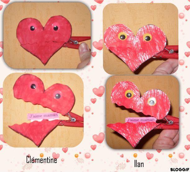 Bricolage saint valentin - Pinterest st valentin bricolage ...